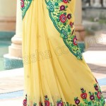 Natasha Couture Majesty Sarees Collection 2013 for Ladies 0013