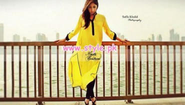 Nazli Couture Summer Tunic Collection 2013 011