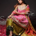 Saakh by Sabah Formal Wear Collection 2013 002