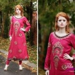 Tila Designs By Sofia Party Wear Collection 2013 For Women 0014