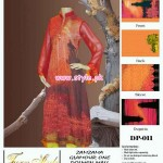Turn Style Digital Print Collection 2013 For Women 001