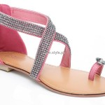 Unze Flat Sandals Collection 2013 for Ladies 005