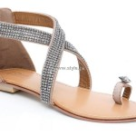 Unze Flat Sandals Collection 2013 for Ladies 007
