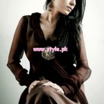Wajahat Mansoor Latest Party Wear Collection 2013 001