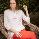 Yellow Casual Wear Collection 2013 For Spring 002