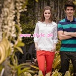 Yellow Casual Wear Collection 2013 For Spring 003