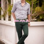 Yellow Latest Western Wear Collection For Men & Women 2013 005
