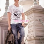 Yellow Latest Western Wear Collection For Men & Women 2013 006