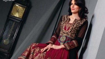 Zobi Fabrics Party Wear Collection 2013 For Women 001