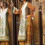 Alkaram Embroidered Fabrics 2013 for Women 002