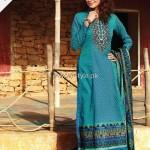 Alkaram Embroidered Fabrics 2013 for Women 009