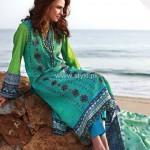 Alkaram Embroidered Fabrics 2013 for Women 012