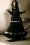 Black and White Couture Party Wear Collection 2013 002