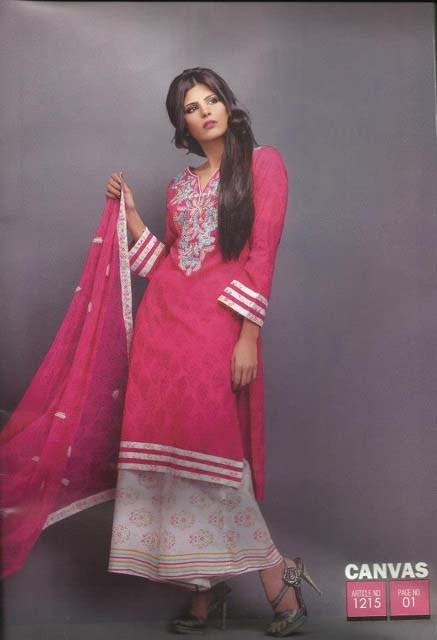 Canvas Lawn Collection 2013 For Women 003