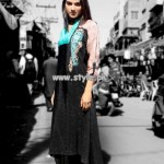 Damak Party Wear Collection For Spring 2013 001