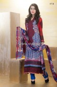 Dawood Lawn 2013 Designer Embroidered Collection 015