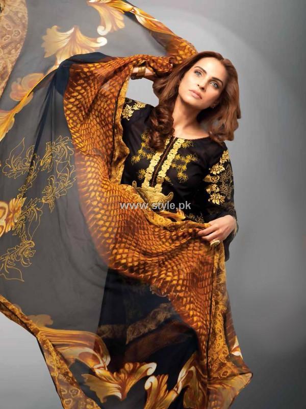Deepak Perwani Lawn 2013 by Orient Textiles 001 pakistani dresses
