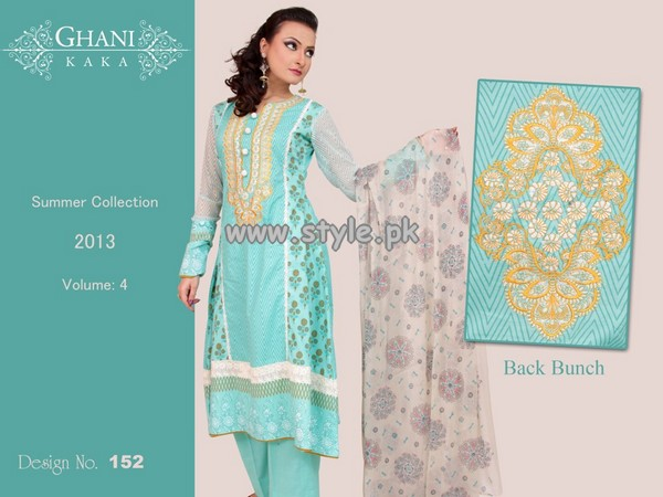 Ghani Textile Summer Lawn Dresses 2013 008
