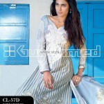Gul Ahmed Summer 2013 Embroidered Fabrics 003
