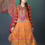 Hijaba De Chiffon Lawn Collection 2013 By Dawood Lawn 009