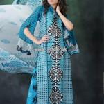 Hijaba De Chiffon Lawn Collection 2013 By Dawood Lawn 010