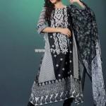 Hijaba De Chiffon Lawn Collection 2013 By Dawood Lawn 011