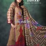 Hijaba De Chiffon Lawn Collection 2013 By Dawood Lawn 012