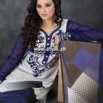 Hijaba De Chiffon Lawn Collection 2013 By Dawood Lawn 015