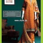 Junaid Jamshed Lawn Prints For Summer 2013 002