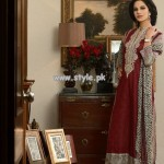 Khaadi Evening Elegane Lawn Collection 2013 For Women 001