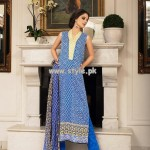 Khaadi Evening Elegane Lawn Collection 2013 For Women 005