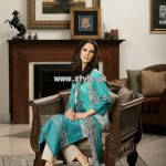 Khaadi Latest Lawn Collection For Summer 2013 008