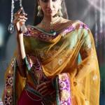 Natasha Couture Ghungroo Lehenga Sarees Collection 2013 For Women 0015