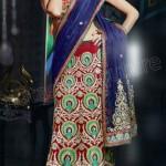 Natasha Couture Ghungroo Lehenga Sarees Collection 2013 For Women 007