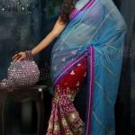 Natasha Couture Ghungroo Lehenga Sarees Collection 2013 For Women 009