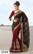 Natasha Couture Spring Saree Collection 2013 For Women 007