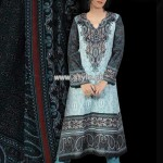 Popular Style Lawn Collection For Women 2013 004