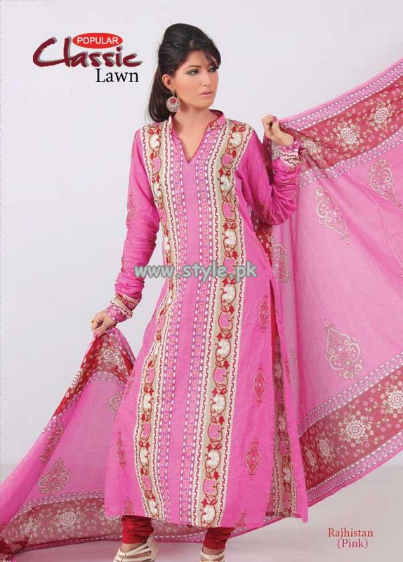 Popular Style Lawn Collection For Women 2013