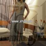 Sajh Designer Wear Party Dresses For Women 2013 003