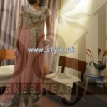 Sajh Designer Wear Party Dresses For Women 2013 005