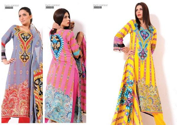 Sitara Textiles Swiss Heart Beat Collection 2013 For Women 006