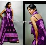 Subhata Lawn Prints by Shariq Textiles 2013 Volume 2 007