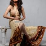 Umsha by Uzma Babar Party Wear Dresses 2013 001