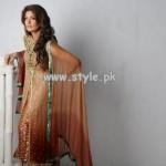 Umsha by Uzma Babar Party Wear Dresses 2013 004