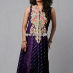 Umsha by Uzma Babar Party Wear Dresses 2013 005