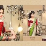 Zobi Fabrics Lehenga Sarees Collection 2013 For Women 001