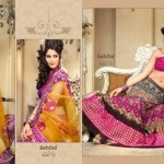Zobi Fabrics Lehenga Sarees Collection 2013 For Women 0011