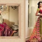Zobi Fabrics Lehenga Sarees Collection 2013 For Women 0012
