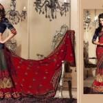 Zobi Fabrics Lehenga Sarees Collection 2013 For Women 0013