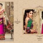 Zobi Fabrics Lehenga Sarees Collection 2013 For Women 003
